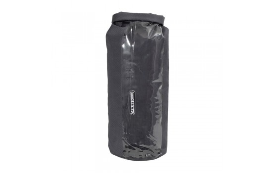ORTLIEB DRY BAG PS21R WITH WINDOW SLATE-TRANSPARENT 13L