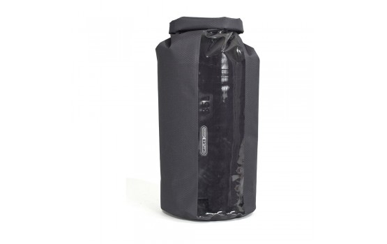 ORTLIEB DRY BAG PS21R WITH WINDOW SLATE-TRANSPARENT 35L