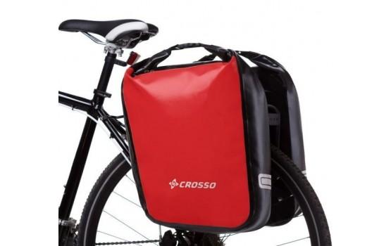 Kelioniniai krepšiai Crosso DRY BIG 60l Click system red (pora)