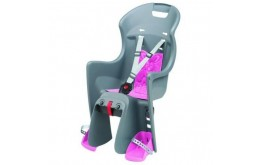 Kėdutė Polisport Boodie CFS Grey/pink (bagažinei)