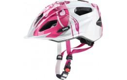 Šalmas Uvex Quatro Junior pink-silver