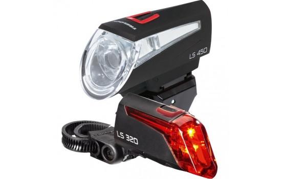Lempų komplektas Trelock LS 450/320