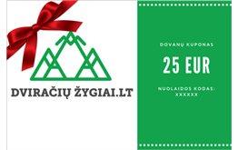 25 EUR dovanų kuponas