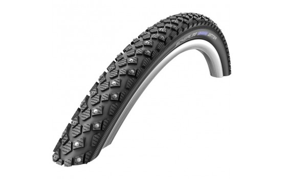 Padanga Schwalbe Marathon Winter HS 396, Perf Wired 42-622 Black-Reflex 28''