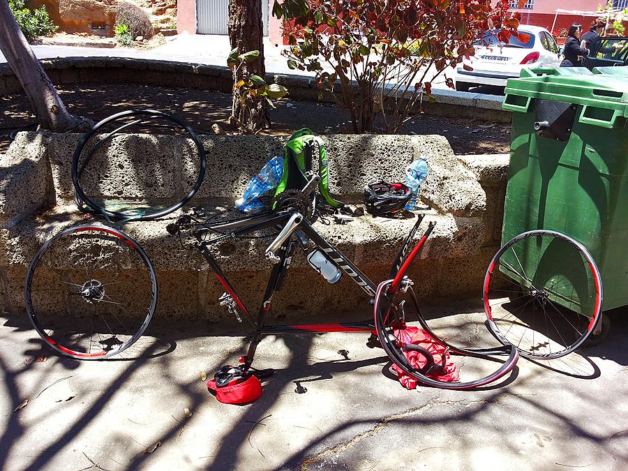 Kelionė dviračiu į Teidę