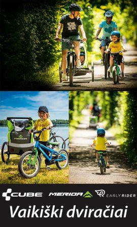 Merida vaikiški dviračiai