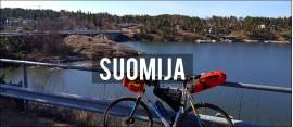 Dviračiu po pietvakarinę Suomiją