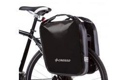 Kelioniniai krepšiai galiniai Crosso EXPERT BIG 60l black (pora)