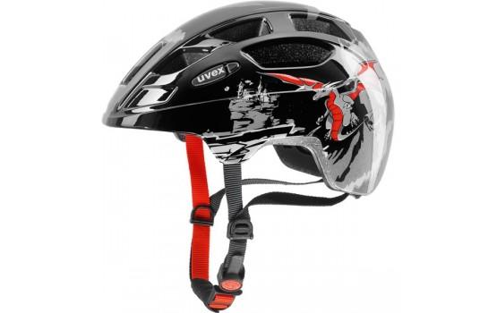 Šalmas Uvex Finale Junior dragon red black