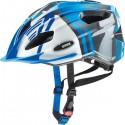 Šalmas Uvex Quatro Junior blue-silver