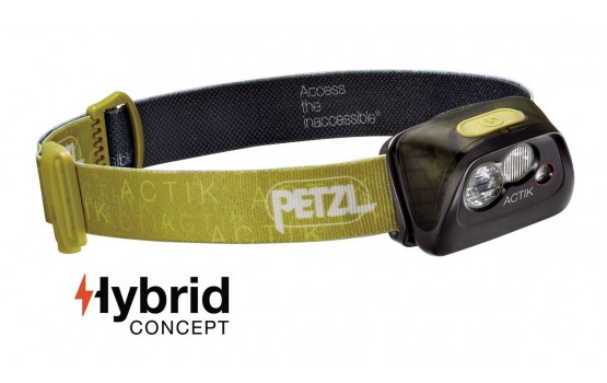 Prožektorius Petzl ACTIK HYBRID green