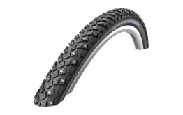 Padanga Schwalbe Marathon Winter HS 396, Perf Wired 47-559 Black-Reflex 26''